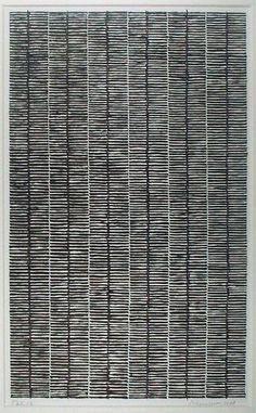 Drawing by Jan Schoonhoven, 1978, Museum Boijmans Van Beuningen.
