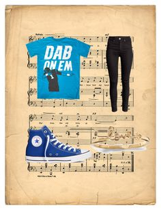 """""""idek"""" by orange-nikes on Polyvore featuring Converse"""