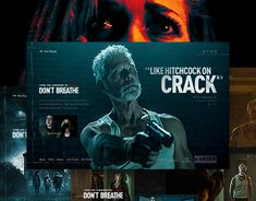 "Check out new work on my @Behance portfolio: ""Don't Breathe - microsite"" http://be.net/gallery/42454049/Dont-Breathe-microsite"