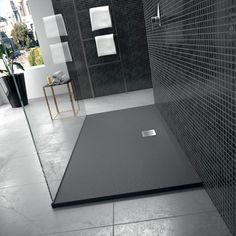 Ideal Standard Douchebak Ultra Flat 170x80cm zwart K8284FV | Sanispecials