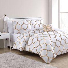 Gold Dot Bedding Gold Decor Bedroom Beddingbasics Decorating