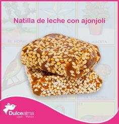 """¡Lotería! Natilla de leche con ajonjolí. """"LoteríaMexicana #JuegosDelAlma #visitmexico #Anzures"""