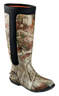 d1e46f305ffe4 SHE Outdoor Avila High Rubber Hunting Boots for Ladies - Realtree AP - 7M
