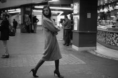 Raymond Depardon, FRANCE. Paris. Fashion shoot. 1999.
