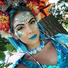 festival fashion festival makeup sequins headpiece necklace