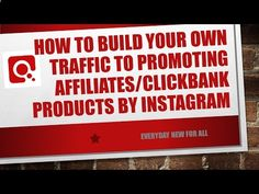 How to build Your Own Traffic to Promoting Affiliates/Clickbank Products Without Website I En4all - www.howtogetmoref...