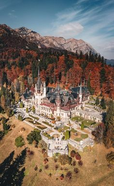 At the Peles Castle in Romania. At the Peles Castle in Romania. Places Around The World, Oh The Places You'll Go, Places To Travel, Around The Worlds, Beautiful Castles, Beautiful Buildings, Beautiful Places To Visit, Wonderful Places, Romanian Castles