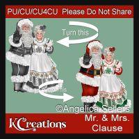Santa Couple Template CU4CU TS
