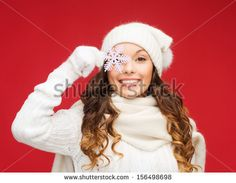 winter, people, happiness concept - woman in hat, muffler and gloves with big snowflake - stock photo Illustrations, Hats For Women, Snowflakes, Winter Hats, Concept, Stock Photos, People, Gloves, Happiness