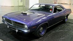 1970 Plymouth Hemi-Cuda. I WILL OWN ONE OF THESE ONE DAY!!!