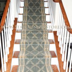 Specializing in hall and stair runner carpet, most comprehensive selection of runner products. Standard staircase, custom stair runners or hall runner installation - The Stair Runner Store is the Only Choice For Runners!