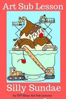 Blog post about an Art Sub Plan that is fun and easy for elementary kids. No prep. Simple media. #artsubplan #artsublesson #easyartactivity Art Sub Plans, Art Lesson Plans, Art Lessons For Kids, Art Lessons Elementary, Easy Art Projects, Middle School Art, Art Classroom, Classroom Ideas, Future Classroom