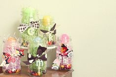the anderson crew: easter jars