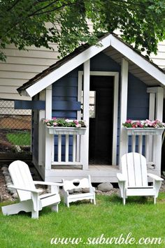 As a parent, you surely know how important it is your children to have a playhouse in the home. In a child's development, a playhouse not only provides a great place for fun games, but also can help your kids to express their creativity. Building a backyard playhouse for your kids is the best options, […] #howtobuildaplayhouse #buildachildrensplayhouse