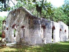 Chapel of Ease near Beaufort, SC...must visit! Beaufortsc