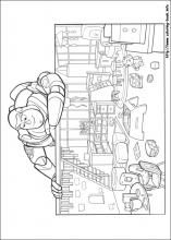 Toy Story 3 coloring pages on Coloring-Book.info Toy Story Coloring Pages, Coloring Pages For Kids, Coloring Books, Toy Story 3, Printable Coloring Pages, Diagram, Toys, Crafts, Vintage Coloring Books