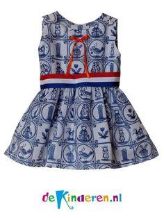 Geweldig jurkje voor koninginnedag en kroningsdag of zelfs koningsdag! Ik hou van holland stijl. Voor echte prinsesjes. Welk meisje wil nou niet zo een jurkje? www.facebook.nl/dekinderen.nl