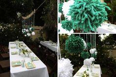 Yarn Pom Pom DIY Tutorials for Weddings & Where To Buy   Bridal Musings