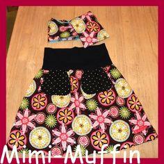 .............Mimi-Muffin.............: Schnelles Röckchen by #allerlieblichst