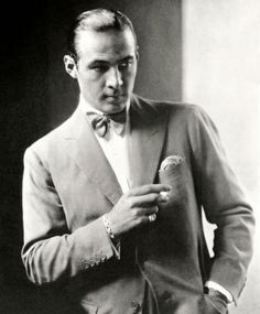 RUDOLF VALENTINO  Actor, 1926, one of the first from Hollywood to cross the threshold.