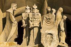 Spanish classroom activities for  the Passion Facade at La Sagrada Familia in Barcelona