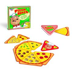 make a pizza game with different ways to make a number: numeral, objects, tally marks, adding, ten frame, number bond, etc...