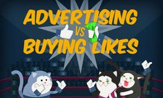 The Naked Truth About Buying Spam Facebook Likes - #infographic #SocialMedia