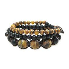 Packs de Bracelets Oeil de tigre Naturel