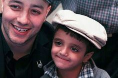 """Singer Maher Zain and a young fan pose for a picture at """"Songs for the Children,"""" an event to benefit children in need. To learn more about Islamic Relief's programs for children, visit irusa.org/campaigns/children-in-need"""