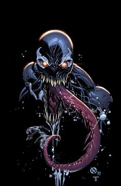 Venom by Jheremy Raapack, colours by Juan Fernandez *