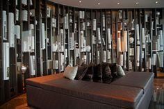 http://www.sofitel.com/gb/hotel-5213-sofitel-bangkok-sukhumvit/index.shtml#./millesime.shtml  The bookshelf at the #Club Millésime Lounge, it located on the 31st floor of Sofitel Bangkok Sukhumvit