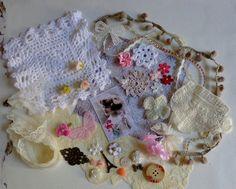 Inspiration Kit  Vintage Pretty Girl I by TeacupAndRoses on Etsy
