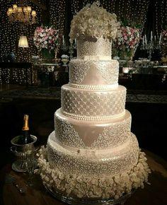 The Basics Of A Wedding Sand Ceremony Big Wedding Cakes, Amazing Wedding Cakes, Elegant Wedding Cakes, Wedding Cake Designs, Gorgeous Cakes, Pretty Cakes, Dream Wedding, Wedding Day, Cake Art