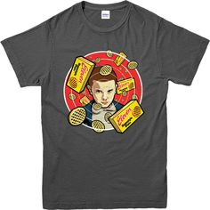 Stranger Things T-Shirt,Stranger 11 Waffle Poster Marvel Comics Spoof T-Shirt Stranger Things Merchandise, Stranger Things Shirt, Stranger Things Have Happened, Eleven Stranger Things, Stranger Things Season, Stranger Things Netflix, Really Cute Outfits, Cool Outfits, Shirts