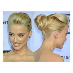 Chignon & Bun Style Gallery / found on Polyvore