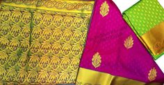 Siddhika Collection - Kancheepuram handloom pure silk sarees with patterned gold zari and drop motifs all over the drape. For weddings and family events. Book now 91 9821054556 Sri Padmavathi Silks, the only South Indian store in Dombivli, India. Kancheepuram handloom pure silk sarees in Mumbai. International shipping available. Wholesale orders accepted. #kanjivaram#kancheepuram #silksaree#silkgold #beautiful #fashion #look#mumbai #matunga #thane#dombivli #wedding#indianwedding #brides…