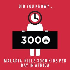 FACT CHECK ✔️: Did you know?... Did you know that malaria kills 3000 children per day in Africa. 🤔  Help make a difference! Go to the link on account page to find out.  Source: Children International  #kidshealth #health #africa #fortheloveofAfrica #children #child #malaria #causes #instagood #love #boy #girl #infographic #tbt #parents