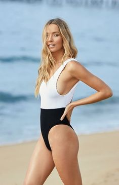 63ab3d6711b The Mackenzie One Piece Swimsuit Swimsuits, Bikinis, Swimwear, Ribbed  Fabric, Pacsun,