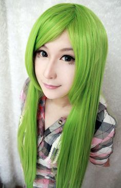 $15.99 (Buy here: https://alitems.com/g/1e8d114494ebda23ff8b16525dc3e8/?i=5&ulp=https%3A%2F%2Fwww.aliexpress.com%2Fitem%2F2014-High-Quality-New-Touhou-Project-Kagiyama-Hina-39-Inches-Long-Straight-Light-Green-Cosplay-Wig%2F2037944851.html ) MCOSER 2015 High Quality New  Project Kagiyama 39 Inches Long Straight Light Green Cosplay Wig for just $15.99