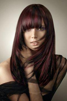 5 Burgundy Hair Color Highlights for 2014 | Hair |Haircuts |Color