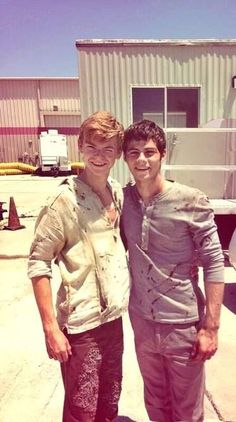 Thomas Sangster and Dylan Obrien-The Maze Runner my two favorite guys! Mostly Thomas Brodie-Sangster Maze Runner The Scorch, Maze Runner Thomas, Maze Runner Movie, Dylan O'brien Maze Runner, Maze Runner Characters, Thomas Brodie Sangster, Maze Runner Trilogy, Maze Runner Series, The Scorch Trials