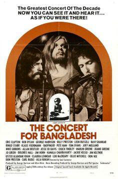 """The Concert for Bangladesh"" - George Harrison, Bob Dylan, Ravi Shankar, Ringo Starr, Eric Clapton, Leon Russell, Billy Preston, Klaus Voormann, Jim Keltner, Pete Ham, Tom Evans, Mike Gibbins, Joey Molland, Jesse Ed Davis, Jim Horn"