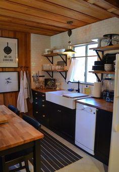 MY LOG CABIN KITCHEN RENOVATION| Rent the cabin here: VRBO.com/804397 | www.AfterOrangeCounty.com