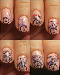 Today, we're bringing to you 17 Romantic Nail Designs For Lovely Valentine's Day, which is without doubt one of the methods that may get you into the spirit of affection, romance and keenness. Luv Nails, Pink Nails, Romantic Nails, Vintage Nails, Flower Nail Art, Learn Art, Cute Nail Designs, Nail Tutorials, Nail Arts