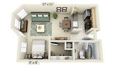 Atualmente, as quitinetes e apartamentos pequenos são tipos de moradia muito comuns, principalmente nas grandes cidades, onde há grande competição pelo esp