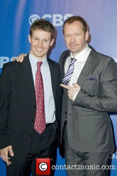 Two of the sweetest guys I have ever met... :) Donnie Wahlberg and Will Estes
