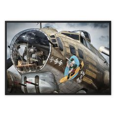 Nine O Nine Framed Canvas – Trigger Image 1080p Wallpaper, Wallpaper Online, Airplane Illustration, Airplane Painting, Traditional Picture Frames, Colorized Photos, Wooden Picture Frames, World Of Tanks, Character Wallpaper