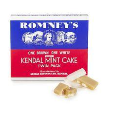 Kendal mint cake.