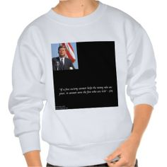 #JFK Saving The Rich & Poor #Quote #Sweatshirt 50% off Code SUNDAYNGHT13 @C/O #Ends 2NITE 12PT #gift