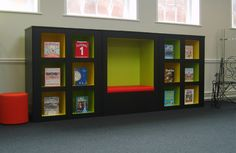 Bespoke Furniture | Demco Interiors - Inspiring Library Design - What a great display cabinet